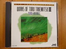Piano-Distance (Works of Toru Takemitsu III) YUJI TAKAHASHI HIROSHI WAKASUGI jvc