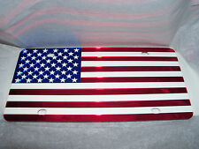 American Flag License Plate Color's -Red/White/Blue Brand NEW!!