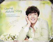 Kim Hyun Joong The Face Shop Korea Promo two-side Poster (SS501)