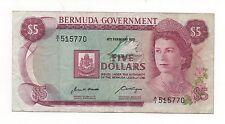 BERMUDA 5 DOLLARS 1970 PICK 24 LOOK SCANS