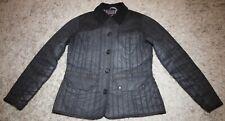 Barbour HARTPURY Waxed Jacket in Black - UK Size 12 [3972]