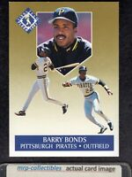 1991 Fleer Ultra Gold #1 Barry Bonds Pittsburgh Pirates Insert Card NM/MT