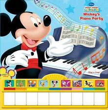 Mickey Mouse Clubhouse Piano Sound Book : Mickey's Piano Party NEW SEALED