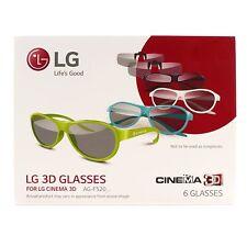 """Original LG AG-F530 Gafas 3D (fiesta + Clip) Para 98UB980V 98"""" Ultra HD 4K TV"""