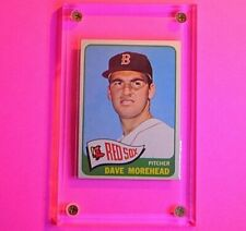 New listing 1965 Topps Baseball #434 Dave Morehead Red Sox  EX-MT (no creases)