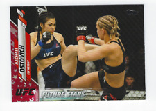 RACHAEL OSTOVICH 2020 TOPPS UFC INDEPENDENCE DAY PARALLEL /76
