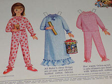 Betsy McCall and the Funicef 1965 Vintage Betsy McCall Magazine Paper Doll