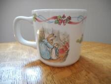 Wedgwood Peter Rabbit creamware Christening mug