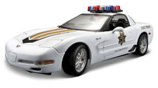 2001 Chevrolet Corvette Z06 [Maisto 31383] State Trooper, 1:18 Die Cast