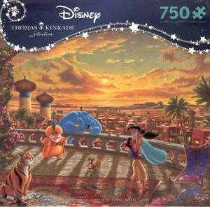 Thomas Kinkade Jigsaw Puzzle Jasmine Dancing in the Desert Sunset NIB