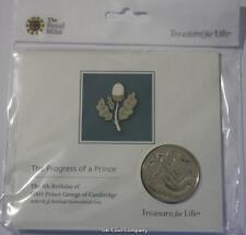 2018 Prince George 5th Birthday £5 Coin Brilliant Uncirculated Royal Mint Pack