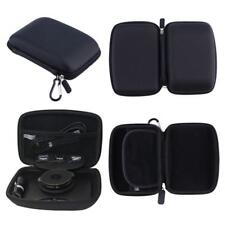 For TomTom Rider 40 Hard Case Carry With Accessory Storage GPS Sat Nav Black