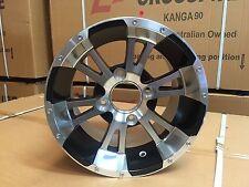 """Crossfire Aluminium Wheel Atv 4x110 12""""x8"""" Utv Rims"""