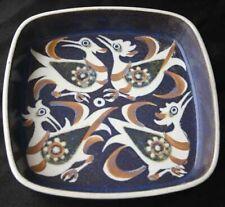 ROYAL COPENHAGEN Dish Birds 708/2883 Nils Thorssen