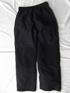 Ski Gear youth XL snow pant 100% nylon pull on reinforced unisex NO POCKET MINT