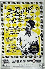 "G. Love & Special Sauce ""Sugar Blues Tour 2015"" San Diego Concert Poster"