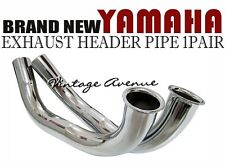 YAMAHA YAS1 AS1 YAS2 AS2 EXHAUST HEADER PIPE 1PAIR L+R [E3/E4]