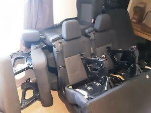 3 Rear van seats double & single Ford Transit MK8 minibus