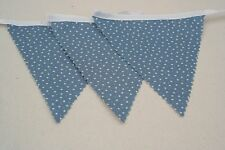 Blue Star Cotton Single Side Bunting Great for Baby Shower 4m Long