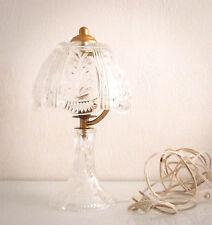 Superbe lampe en cristal taillé (Baccarat ?) d'époque vintage vers 1950/60.