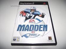 Madden 2001 NFL PS2 PAL *Complete*