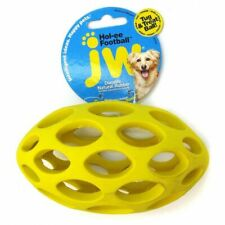 "LM JW Pet Sphericon Football Dog Toy Large (6"" Long)"