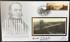 GORDON MASTERTON, Crossrail HS2, Signed 23.2.2006 Brunel FDC Clifton Suspension