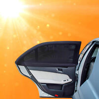 2x Sun Shade Cover Car  blind mesh for Rear Side Window Max UV Tackle Protection