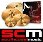 "Zildjian A Series 391 Cymbal Pack 14"" Hi Hats 16"" & 18"" Medium Crash 21"" Ride"