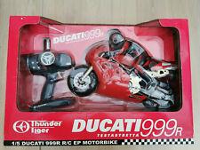 Vintage Rare Thunder Tiger Ducati 999R Testastretta 1/5 Scale Rc Motorbike