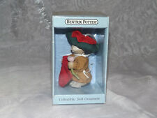 Schmid Beatrix Potter Benjamin Bunny Collectible Doll Ornament