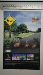 Spyro Year Of The Dragon RARE Print Advertisement