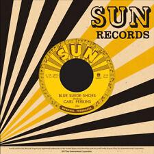 """CARL PERKINS 'Honey Don't / Blue Suede Shoes 7"""" Third Man Sun Elvis Presley cash"""