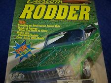 Custom Rodder  Magazine, Hot Rod,Rat Rod.Back Issue April 2002