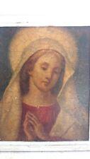 Ancienne peinture religieuse . Old religious painting 19èmes