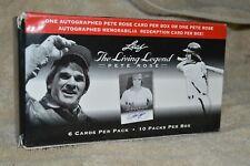 2012 Leaf Pete Rose The Living Legend Baseball Blaster Box