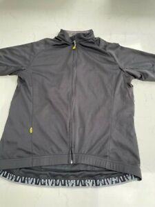 Mavic Cycling Jersey Black Size Large