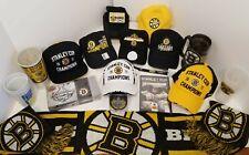 Boston Bruins 2011 Stanley Cup Champions Hats Cards DVD Puck Mug Christmas Set