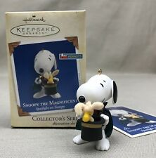 SNOOPY THE MAGNIFICENT Hallmark 2005 #8 Magician Woodstock Rabbit in Hat
