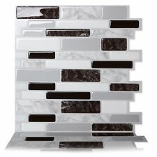 Product Reviewstic Tac Tiles Premium L Stick Wall Tile In Polito Black White 5sheets