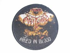 OBITUARY INKED IN BLOOD WOVEN PATCH