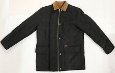 Ralph Lauren Dry Goods Brown Diamond Quilted Barn Equestrian Jacket