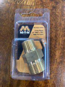 """3/8""""MNPT Scr Nipple by Mi T M Corp"""
