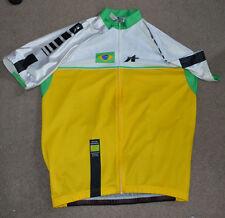Brazilian Cycling Confederation Jersey XL Brazil Brasil Full Zip