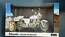 1/12 Finished Bike Model Honda dream CB750FOUR wild 7 Police Motorcycle