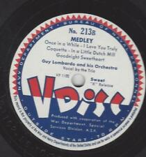 V-Disc No.213 : Sammy Kaye Orchestra : I miss your kiss + A Little on the lonel