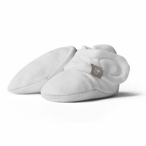 Goumikids Soft Organic Stay On Baby Boots Infant Booties Shoes, 3-6M Desert Mist