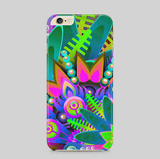 Abstract Flowers Petals Painting Pollen Colourful Phone Case Cover