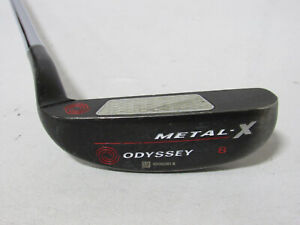 """Used LH Odyssey Metal-X 8 34"""" Putter"""