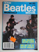 THE BEATLES MONTHLY BOOK JAN 1993 NO. 201 FANZINE 46 PAGE OFFICIAL MAGAZINE OOP